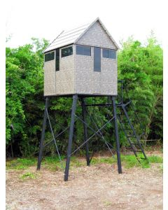 The Antler Shed (5' x 6' Bow/Gun with 8 Ft Tower)