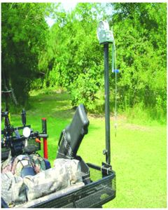 ATV Game Handler for Tubular Racks