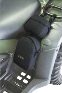 Black ATV Fender Bag