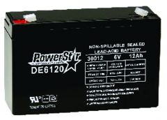 6V-12 AH Rechargeable Battery