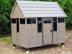 The Antler Shed (5' x 8' Bow/Gun Blind Only)