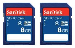 2 Pack 8 GB SD Card