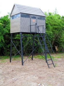 The Antler Shed (5' x 8' Blind with 5 Ft Tower)