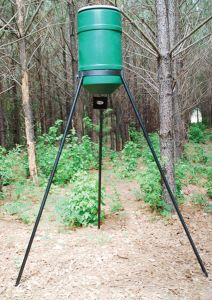 American Hunter 6/12 Volt Digital Spin Tripod Feeder