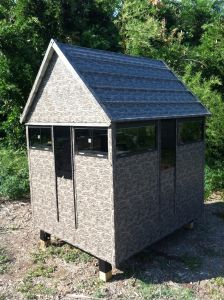 The Antler Shed ( 5' x 6' Bow/Gun Blind Only)