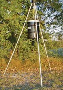 On Time Deluxe Elite Winch Up Feeder